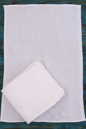Полотенце вафельное (уп. 10шт) - Фаина