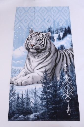 Полотенце банное Тигр - Фаина