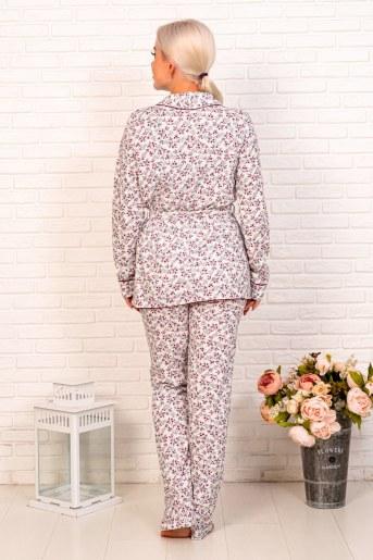 Пижама 44002 (Мелкие цветы) (Фото 2)