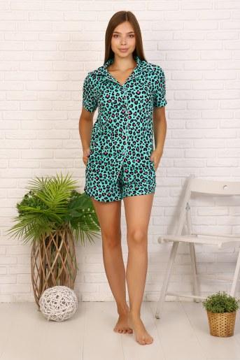 Пижама 11605 (Леопард) - Фаина