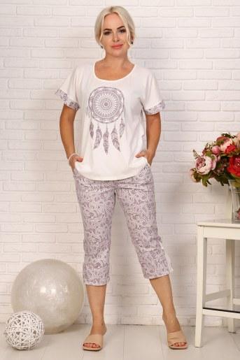 Пижама 18011 (Какао) - Фаина