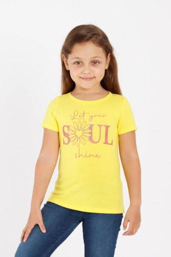 Футболка Кенди детская (Желтый) - Фаина