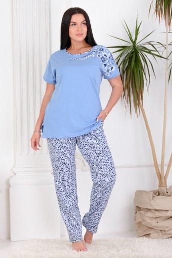 Пижама 25658 (Синий) - Фаина