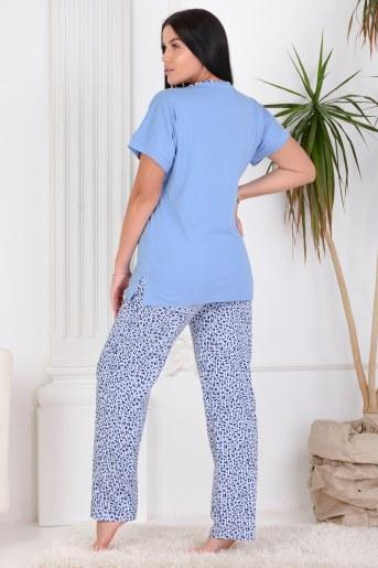 Пижама 25658 (Синий) (Фото 2)