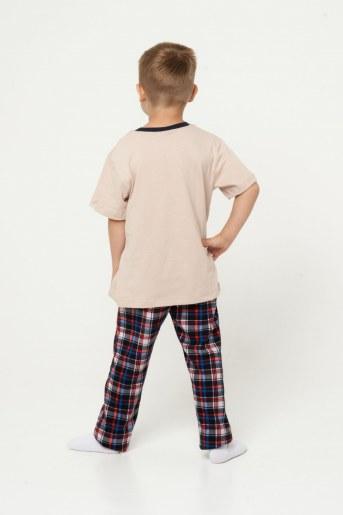 Пижама Тим детская (Бежевый) (Фото 2)
