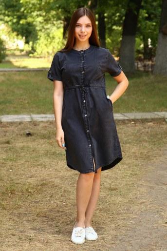 Платье 38011 (Черный) - Фаина