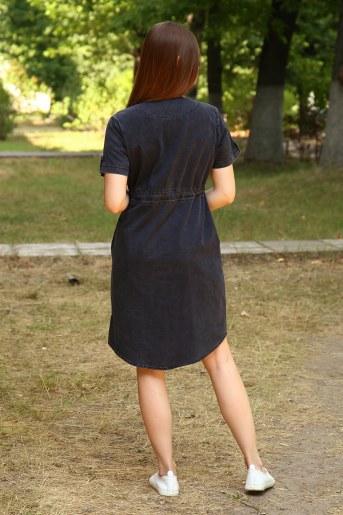 Платье 38011 (Черный) (Фото 2)