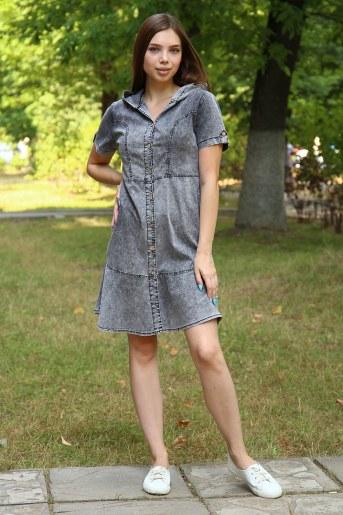 Платье 38014 (Серый) - Фаина
