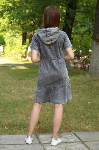 Платье 38014 (Серый) (Фото 2)