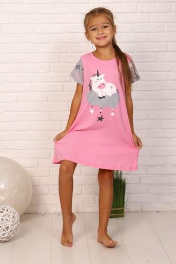 Ночная сорочка Дрёма (Розовый) - Фаина