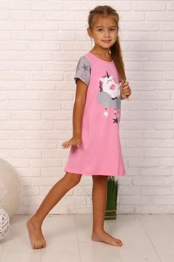 Ночная сорочка Дрёма (Розовый) (Фото 2)