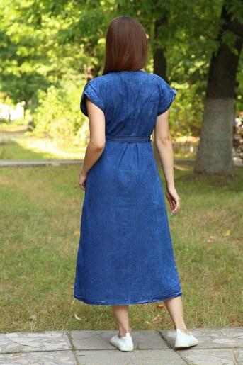Платье 38017 (Синий) (Фото 2)