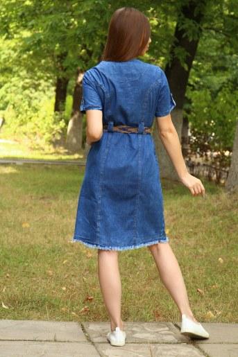 Платье 38016 (Синий) (Фото 2)