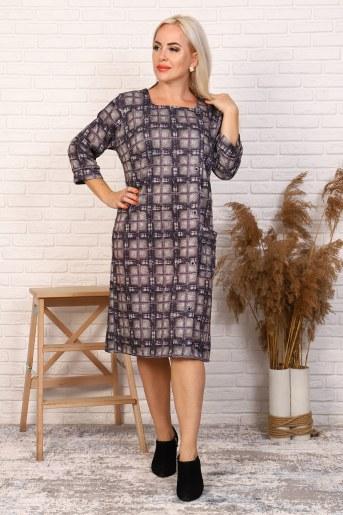 Платье 31549 (Сиреневый) - Фаина