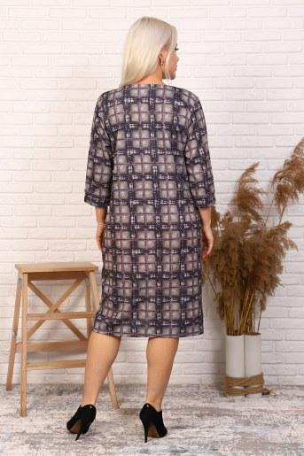 Платье 31549 (Сиреневый) (Фото 2)