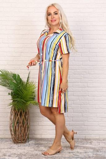 Платье 6979 (Полоса) (Фото 2)