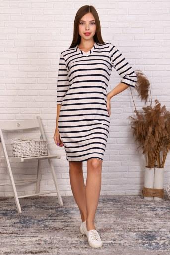 Платье 38512 (Бежевый) - Фаина