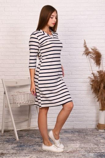 Платье 38512 (Бежевый) (Фото 2)