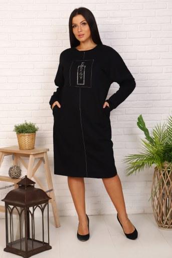 Платье 31551 (Черный) - Фаина