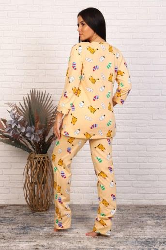 Пижама 46020 (Бежевый) (Фото 2)