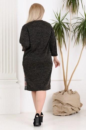 Платье 13496 (Антрацит) (Фото 2)