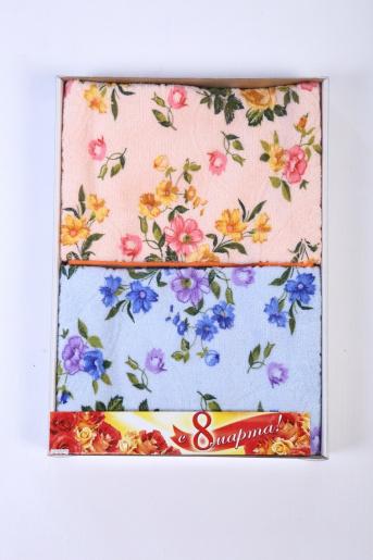 Коробка подарочная 2 полотенца 32х70 - Фаина