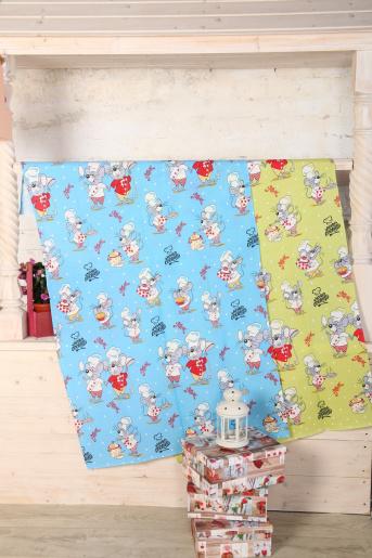 Полотенце банное Мышки (80х150) - Фаина