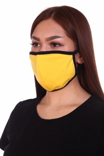 Трикотажная повязка на лицо (набор из 4х штук) (Фото 2)