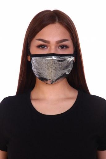 Трикотажная повязка на лицо (набор из 2х штук) - Фаина