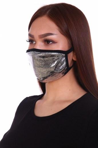 Трикотажная повязка на лицо (набор из 2х штук) (Фото 2)