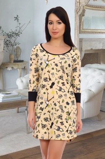 Платье 10460 (Персиковый) - Фаина