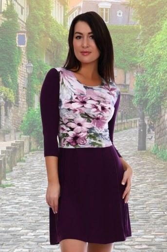 Платье 3336 (Фиолетовый) - Фаина