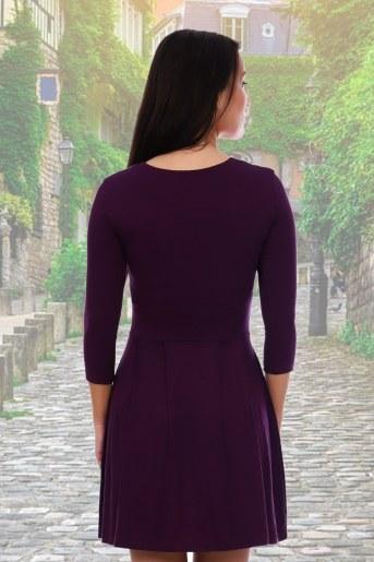 Платье 3336 (Фиолетовый) (Фото 2)