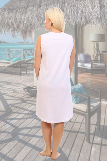 Сорочка 10406 (Белый) (Фото 2)