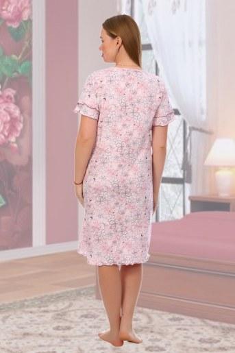 Сорочка Канны (Розовый) (Фото 2)