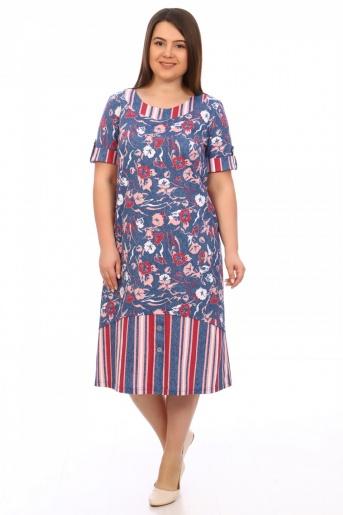 №602 Платье - Фаина