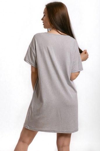 Сорочка Калгари (Серый) (Фото 2)