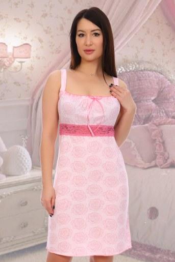 Сорочка Марсель (Розовый) - Фаина