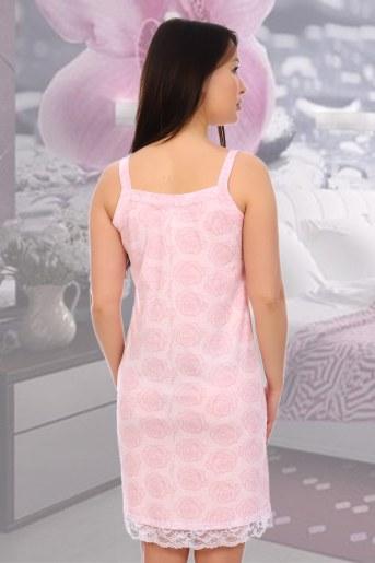 Сорочка Лейси (Розовый) (Фото 2)