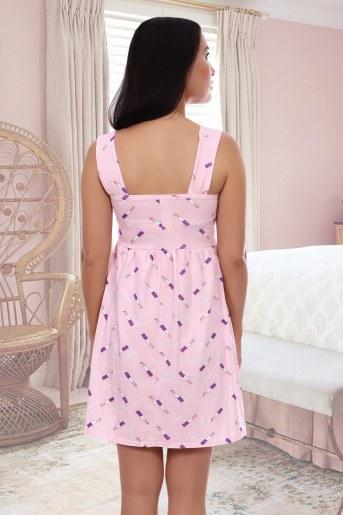 Сорочка Поэма (Розовый) (Фото 2)