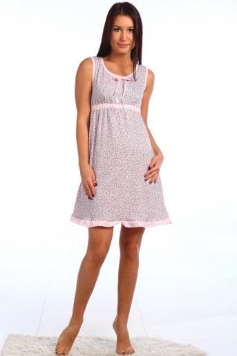 Сорочка Ландыш (Розовый) - Фаина