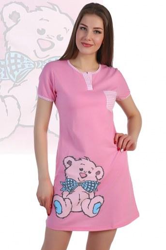 Сорочка 924 (Розовый) - Фаина