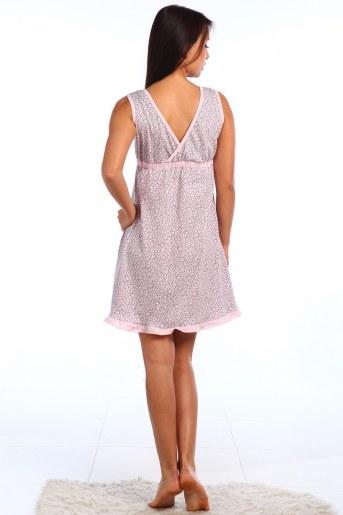 Сорочка Ландыш (Розовый) (Фото 2)