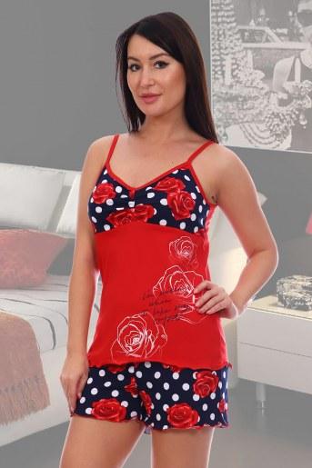 Пижама 5552 (Красный) - Фаина