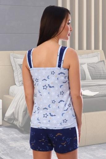 Пижама Найт (Синий) (Фото 2)