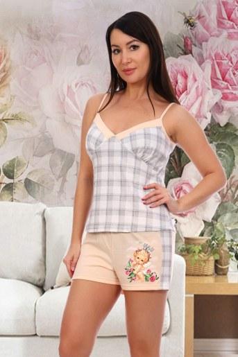 Пижама 7056 (Персиковый) - Фаина
