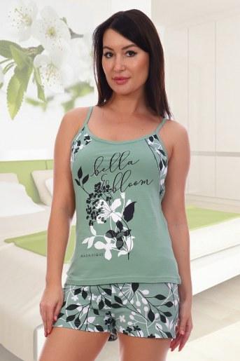 Пижама 5548 (Зеленый) - Фаина
