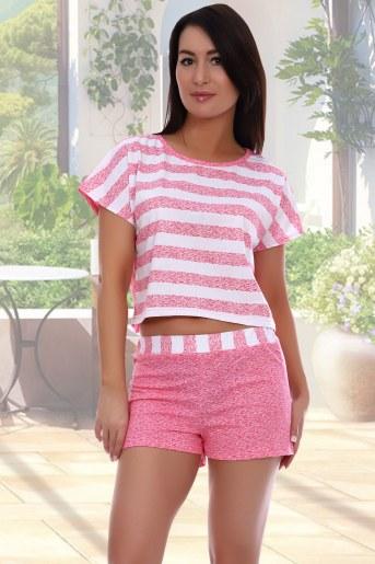Пижама Эвита (Розовый) - Фаина