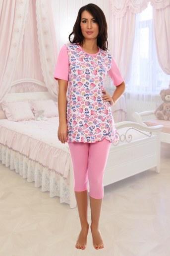 Пижама Прима (Розовый) - Фаина