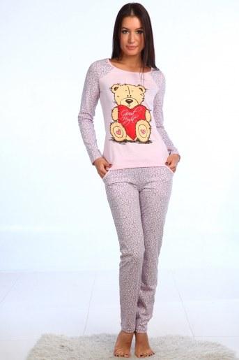 Пижама Бонни (Розовый) - Фаина